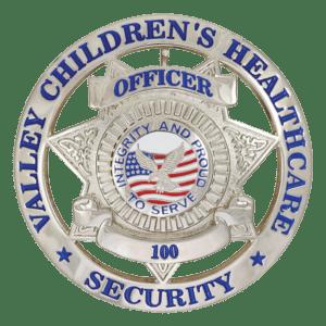 Hero's Pride Custom Metal Badge - VCA Security
