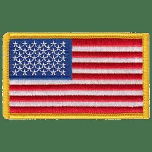 Hero's Pride Custom Patch US Flag